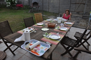 Table au gîte
