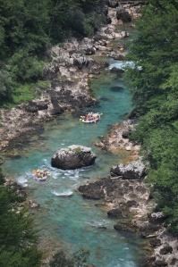 Rivière Tara - rafting