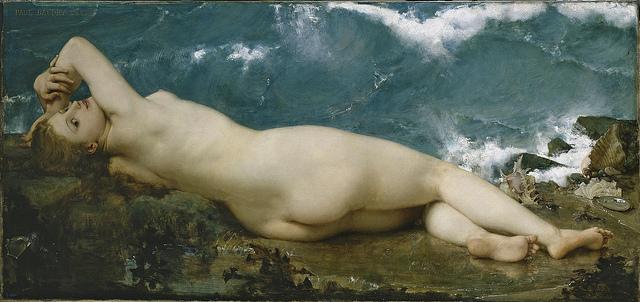 Perle et la vague - Baudry