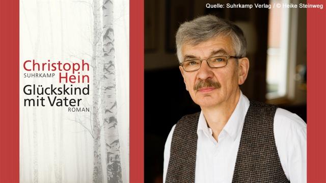 Christoph Hein Glückskind mit Vater, Roman