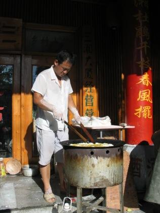 Chine un matin