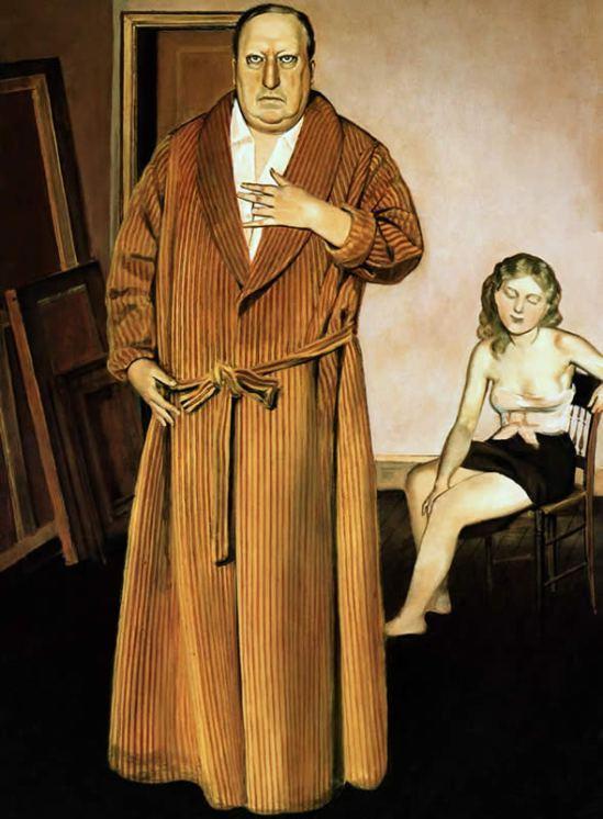 Balthus._Portrait_d_André_Derain_1936