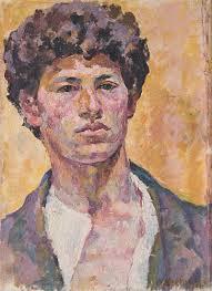 Giacometti-autoportrait 1920