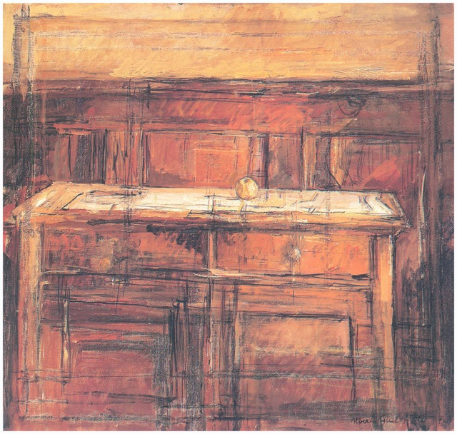 Giacometti + Nature morte avec pomme