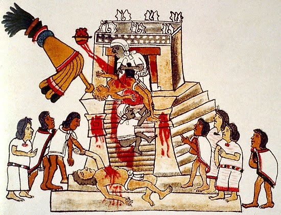 Mexico conquest_human_sacrifice