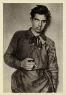 _Russian Photographer - Vladimir Mayakovsky Russian poet playwright artist and actor - (MeisterDrucke-345682)