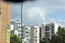 vue du périph parisien sur mon ex-chez moi à Bagnolet