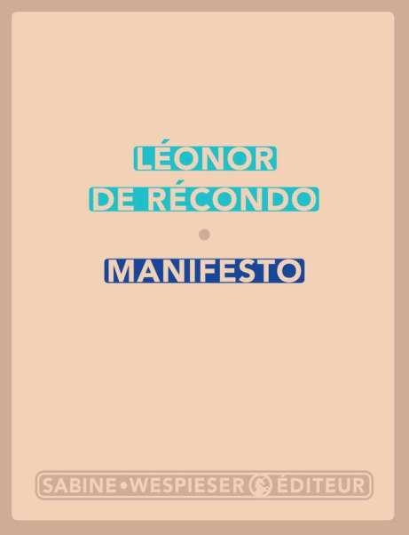 Manifesto de Léonor de Récondo