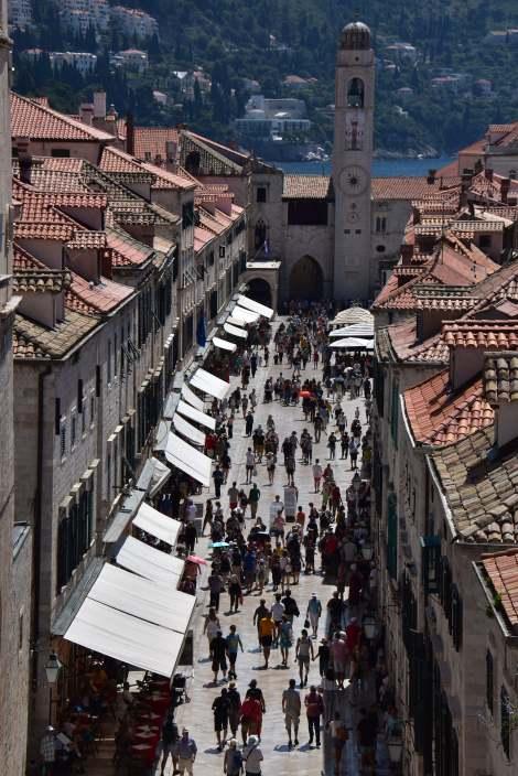 Touristes à Dubrovnik 3