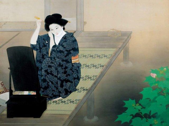 Katsuda-Testsu-Evening-Bijinga
