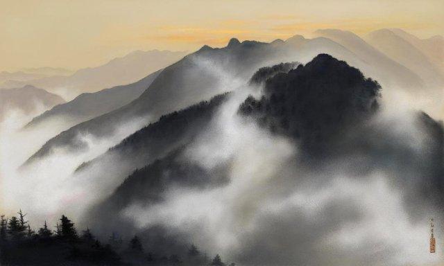 Taikan-Yokoyama-Spring-Dawn-Chichibu