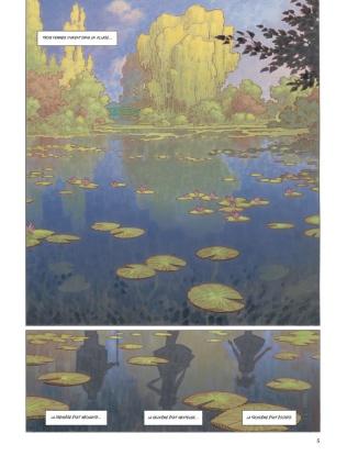 Nymphéas-noirs-Michel-Bussi-adaptation-BD-Fred-Duval-Didier-Cassegrain-thriller-enquête-Giverny-peinture-Claude-Monet-p.1