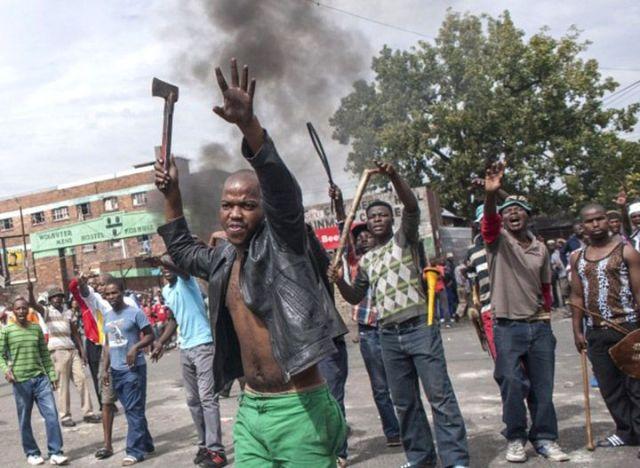afrique de sud - violences