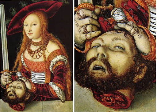 Cranach _ Judith